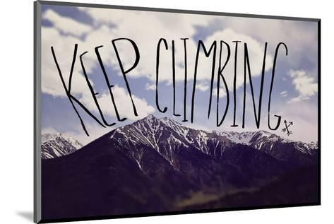 Keep Climbing-Leah Flores-Mounted Art Print