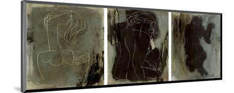 Las Mujeres-Kani-Mounted Art Print