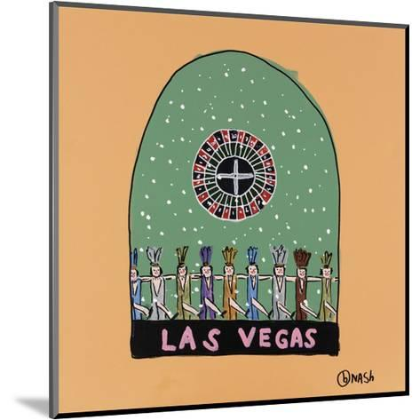 Las Vegas Snow Globe-Brian Nash-Mounted Art Print