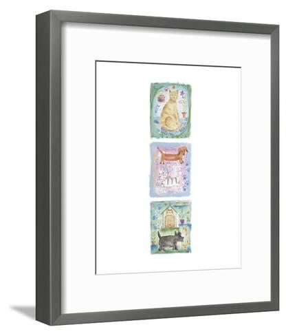 Kitty Bow Wow-Jane Claire-Framed Art Print