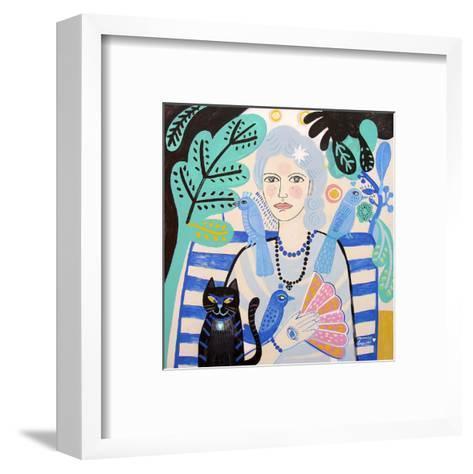 Lady-Mercedes Lagunas-Framed Art Print