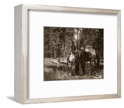 Josh and JB-Barry Hart-Framed Art Print