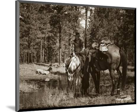 Josh and JB-Barry Hart-Mounted Art Print