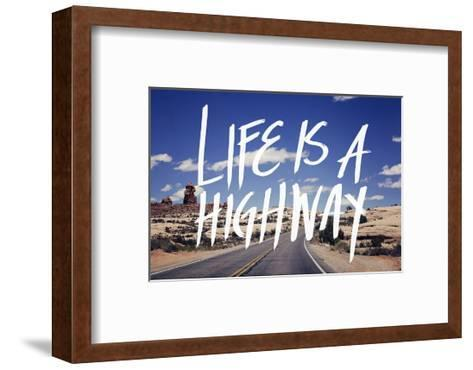 Life is a Highway-Leah Flores-Framed Art Print
