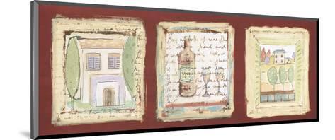 Les petites maisons de Provence-Jane Claire-Mounted Art Print
