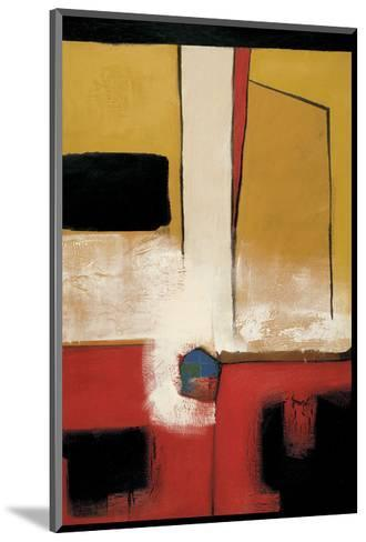 Linear Language II-Luis Parra-Mounted Art Print