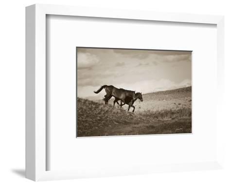 Live Like Someone Left the Gate Open-Barry Hart-Framed Art Print