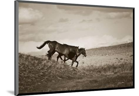 Live Like Someone Left the Gate Open-Barry Hart-Mounted Art Print
