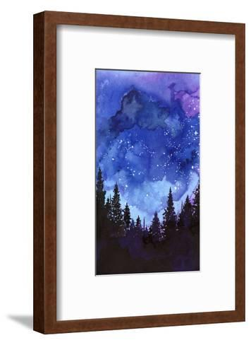 Let?s Go See The Stars-Jessica Durrant-Framed Art Print