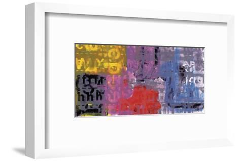 Letra Art XI-Sven Pfrommer-Framed Art Print