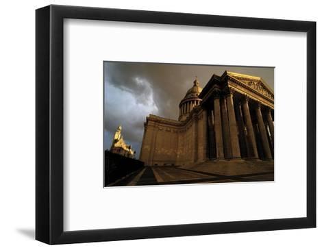 Le Pantheon-Sabri Irmak-Framed Art Print