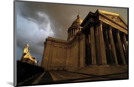 Le Pantheon-Sabri Irmak-Mounted Art Print