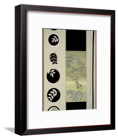Leaf Flow-Dominique Gaudin-Framed Art Print
