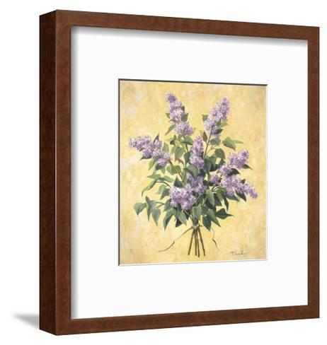 Lilac Season I-Todd Telander-Framed Art Print