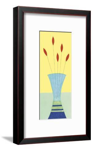Lipstick Tulips-Annabel Hewitt-Framed Art Print