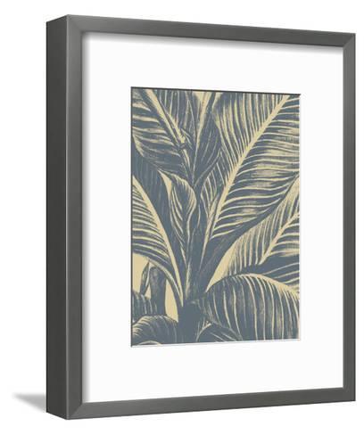 Leaf 1-Botanical Series-Framed Art Print