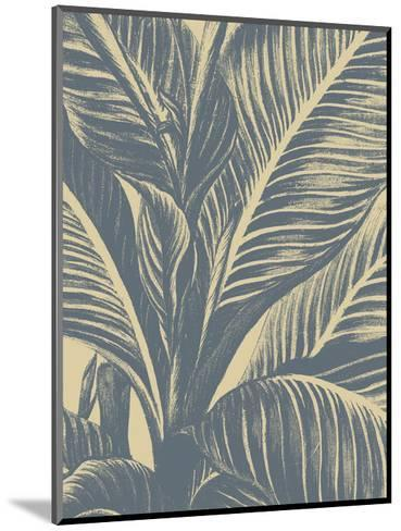 Leaf 1-Botanical Series-Mounted Art Print