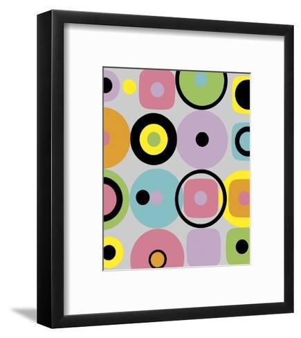 Licorice Wheels-Dominique Gaudin-Framed Art Print