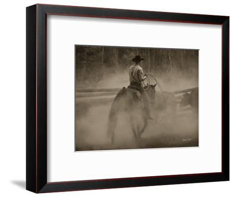 Lost Canyon Cowboy #2-Barry Hart-Framed Art Print