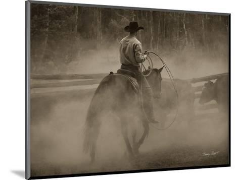 Lost Canyon Cowboy #2-Barry Hart-Mounted Art Print