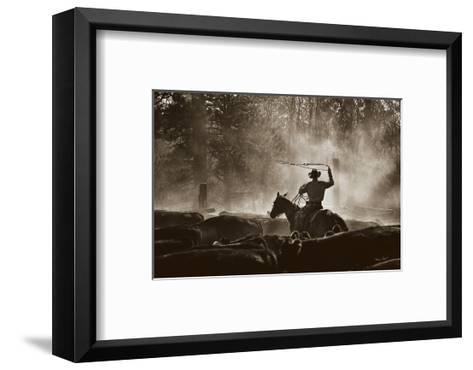Lost Canyon Roundup-Barry Hart-Framed Art Print
