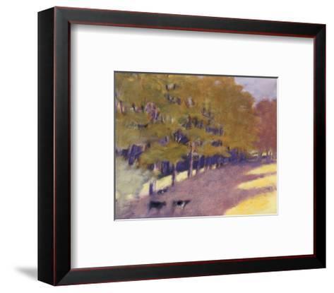 Mr. Hamilton's Heifers-Wolf Kahn-Framed Art Print