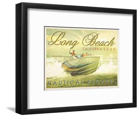 Nautical Escapes 3-Carlos Casamayor-Framed Art Print