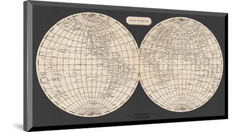 Map of the World, 1812-Aaron Arrowsmith-Mounted Art Print