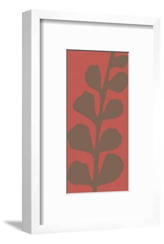 Maidenhair Coco Stem (single)-Denise Duplock-Framed Art Print
