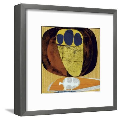 Meteor (detail)-Rex Ray-Framed Art Print