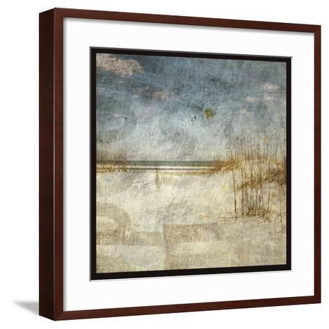 Masonboro Island No. 8-John W^ Golden-Framed Art Print