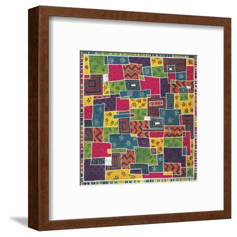 Marrakech Melange-Dominique Gaudin-Framed Art Print