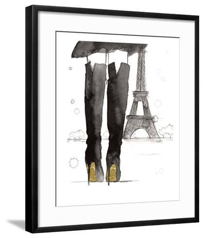 Meet me in Paris-Jessica Durrant-Framed Art Print