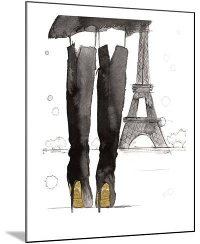Meet me in Paris-Jessica Durrant-Mounted Art Print