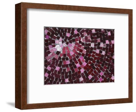 Marsala Radial-Stacey Wolf-Framed Art Print