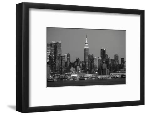 New York Skyline-Chris Bliss-Framed Art Print