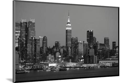 New York Skyline-Chris Bliss-Mounted Art Print