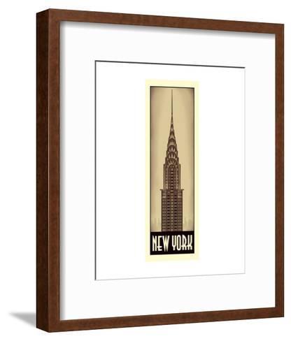 New York-Steve Forney-Framed Art Print