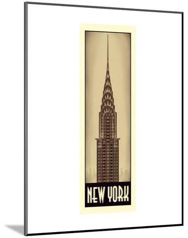 New York-Steve Forney-Mounted Art Print