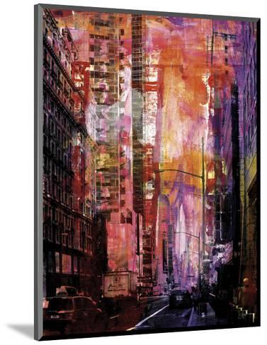 New York Color XXX-Sven Pfrommer-Mounted Art Print