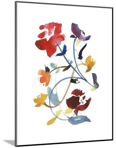 Nouveau Boheme - Folk Art Series No. 2-Kiana Mosley-Mounted Art Print