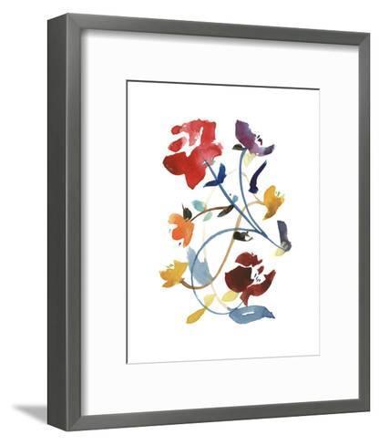 Nouveau Boheme - Folk Art Series No. 2-Kiana Mosley-Framed Art Print