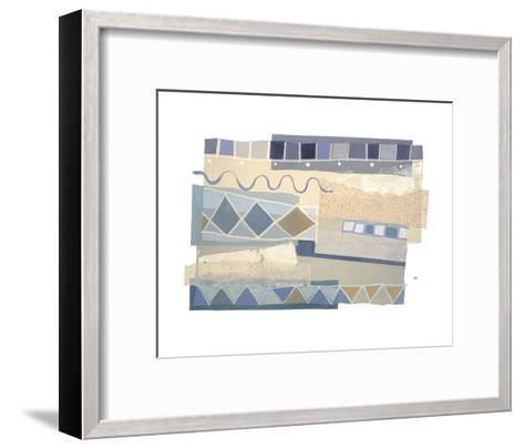 Ocean's Surf I-P^G^ Gravele-Framed Art Print