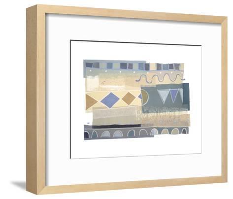 Ocean's Surf II-P^G^ Gravele-Framed Art Print