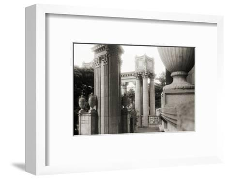 Palace of Fine Arts-Christian Peacock-Framed Art Print