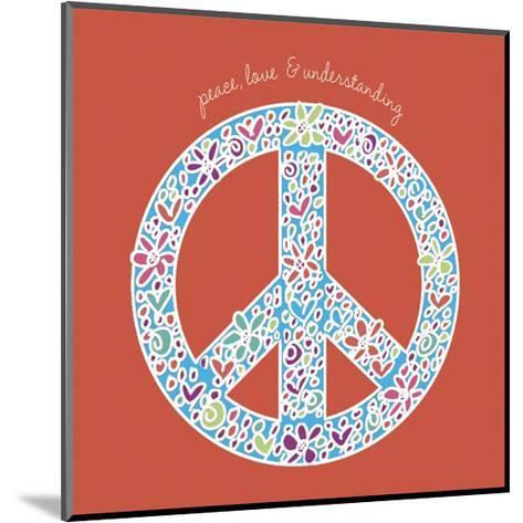 Peace, Love, and Understanding-Erin Clark-Mounted Art Print