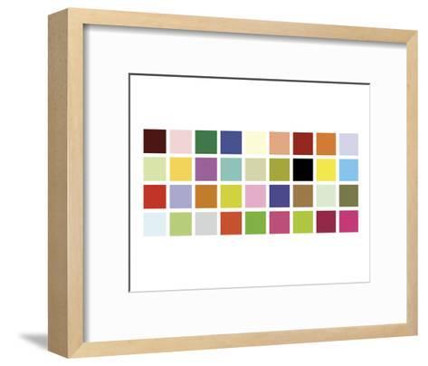 Paint Box Graphic II-Dan Bleier-Framed Art Print