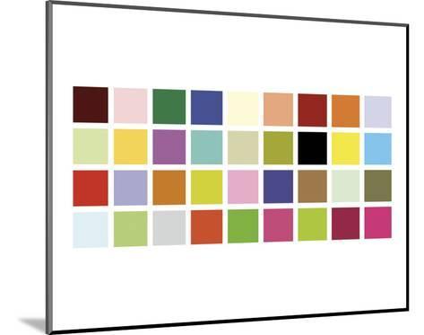 Paint Box Graphic II-Dan Bleier-Mounted Art Print