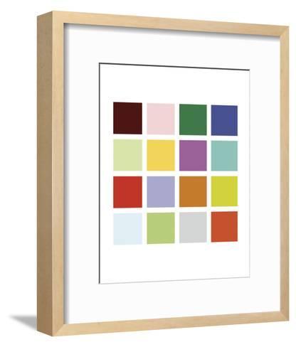 Paint Box Graphic II (detail)-Dan Bleier-Framed Art Print
