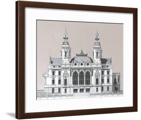 Vintage Formation I-Andras Kaldor-Framed Art Print